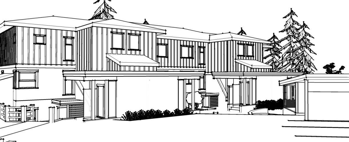 design build multi family residence