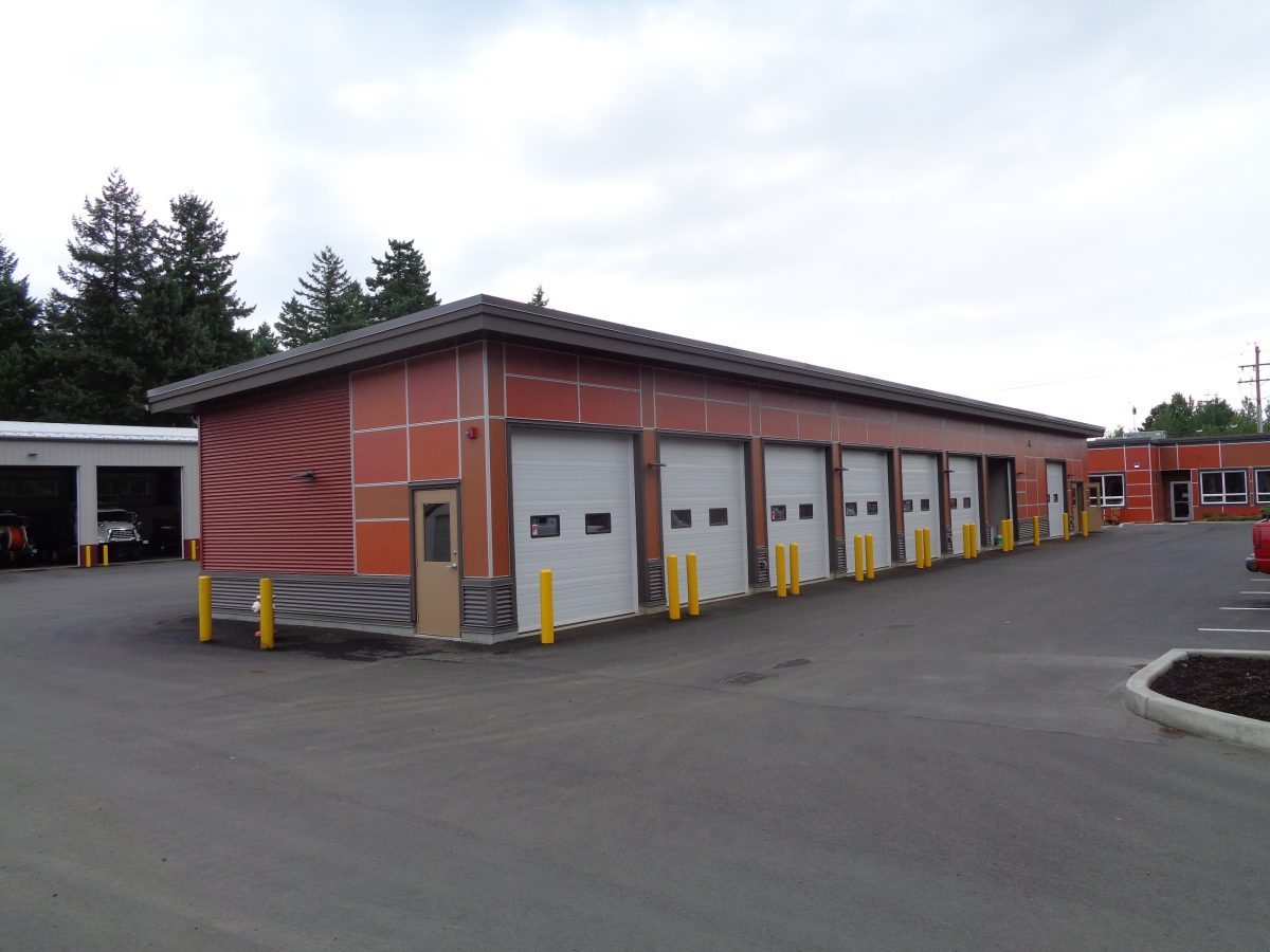 Town of Comox Public Works Yard